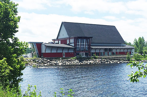 The Stockey Centre located on the shores of Georgian Bay.