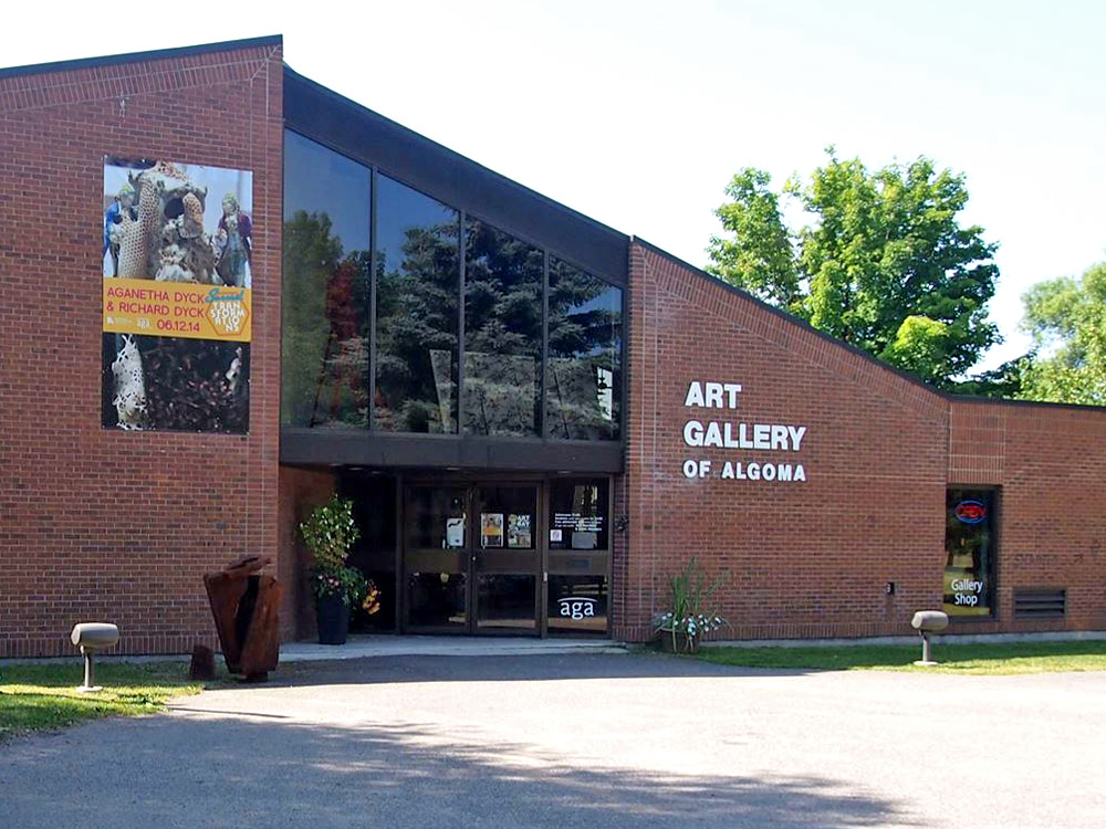 The Alogma Art Gallery building