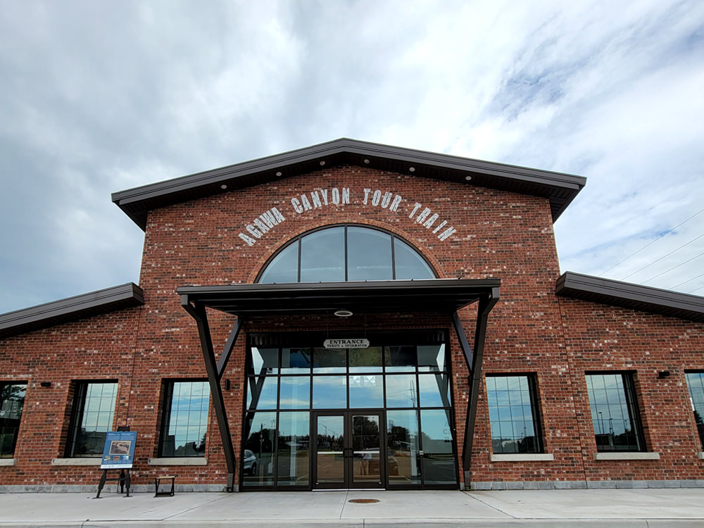 The front of the Algoma Trail Station