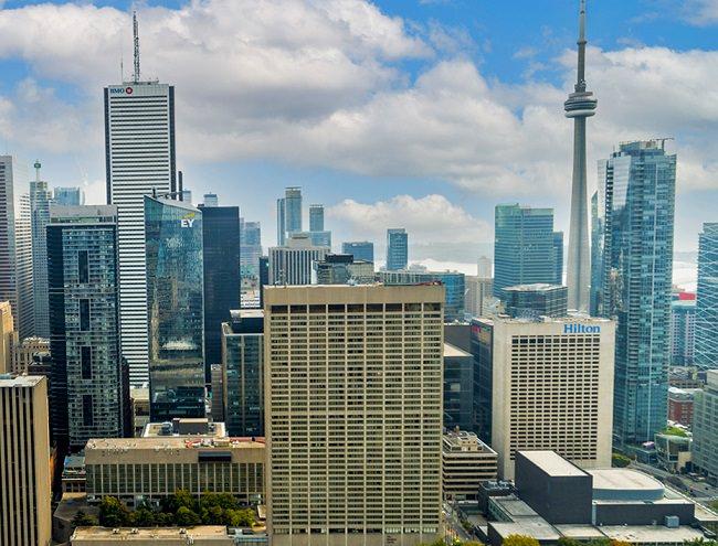 City scape of Toronto