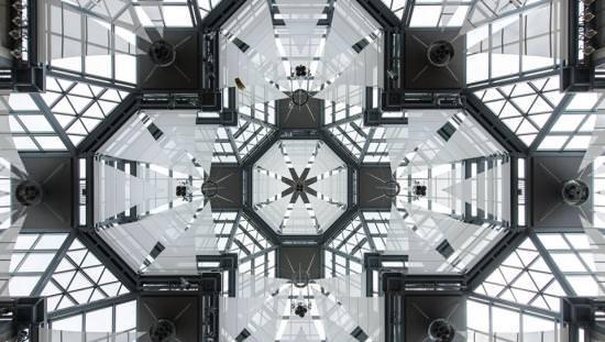 Le plafond complexe de la galerie nationale