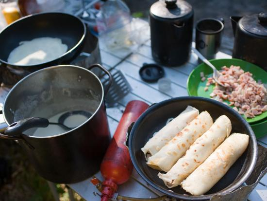 Essential camping kitchen and cooking equipment