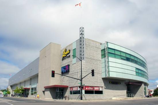 The exterior of Leon's Centre